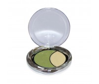 Dmgm Studio Perfection Duo Eyeshadow 40 Forest Green Gold Frost