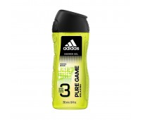 Adidas Pure Game 3 In 1 Body, Hair & Face Shower Gel For Men 250ml