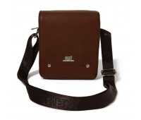 Roberto Ballmore Magnetic Flap Closure Messenger Bag SC44227