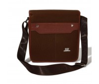 Roberto Ballmore Magnetic Flap Solid Messenger Bag SC44230
