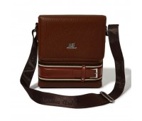 Roberto Ballmore Magnetic Flap Closure Buckled Messenger Bag SC44235