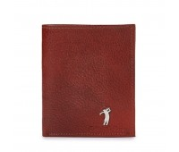 Roberto Ballmore Classic Brown Bifold Textured Leather Wallet SC45984