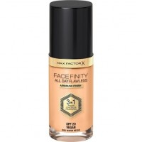 Max Factor FaceFinity All Day Flawless 3 in 1 Foundation W62 Warm Beige